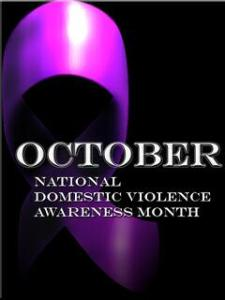 October domestic violence purple_ribbon