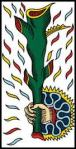 Marseilles Ace of Wands