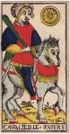 Knight of Pentacles (Marseilles Tarot)