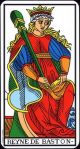 Marseilles Queen of Wands