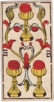 Three of Cups (Marseilles)