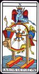 Wheel of Fortune (Marseilles Tarot)