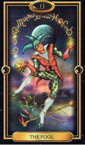 Gilded Tarot- The Fool