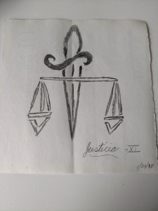 Sketch of Justice card image