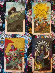 April Fool Tarot Challenge Day 8 cards