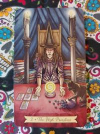 The High Priestess- II Everyday Witch Tarot_032519 small size