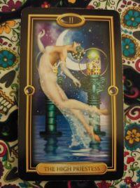The High Priestess- II Gilded Tarot_011120 small size
