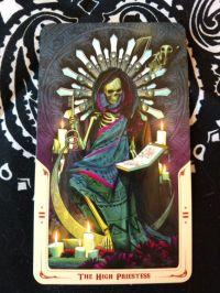 The High Priestess- II Santa Muerte Tarot_20180119 small size