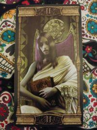 The High Priestess -II Vampires Tarot of Eternal Night_011120 small size
