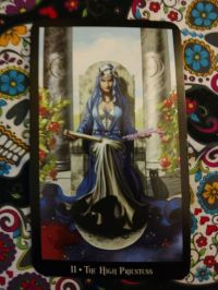 The High Priestess- II Witches Tarot_20180817 small size