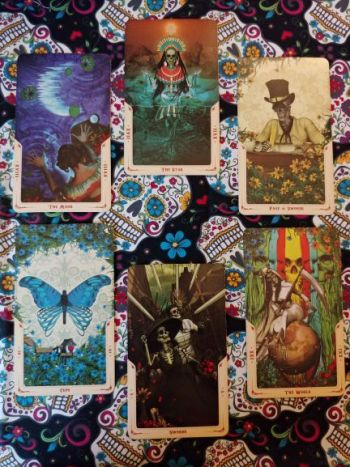 Deck Interview Spread Revealed Santa Muerte Tarot_031519 small
